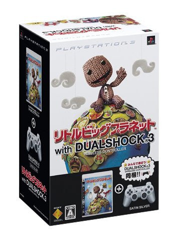 Image 1 for LittleBigPlanet (With Dual Shock 3 Pack: Silver)