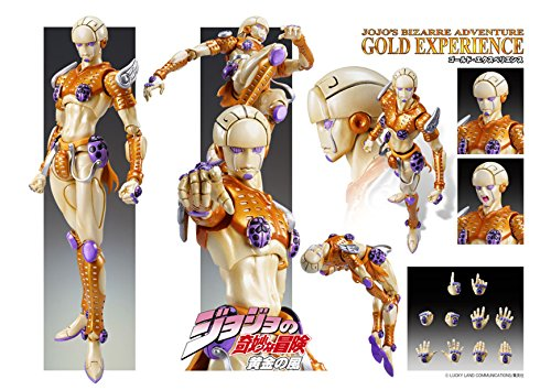 Image 7 for Jojo no Kimyou na Bouken - Vento Aureo - Gold Experience - Super Action Statue #38 (Medicos Entertainment)