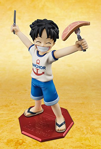 Image 4 for One Piece - Monkey D. Luffy - Excellent Model - Portrait Of Pirates MILD - 1/8 - CB-R1 (MegaHouse)