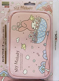 Thumbnail 1 for 3DS LL Character Soft Pouch (My Melody Parasol)