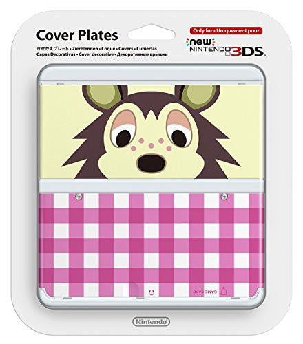 Image 1 for New Nintendo 3DS Cover Plates No.016 (Animal Crossing Asami) Slight damage on package