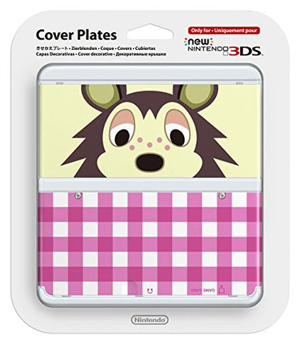 New Nintendo 3DS Cover Plates No.016 (Animal Crossing Asami) Slight damage on package