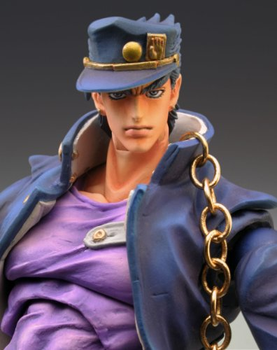 Image 3 for Jojo no Kimyou na Bouken - Stardust Crusaders - Kuujou Joutarou - Super Action Statue #12 - Second Ver. (Medicos Entertainment)