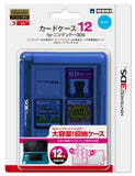 Thumbnail 1 for 3DS Card Case 12 (Blue)