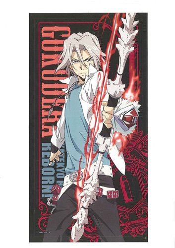 Image 1 for Katekyou Hitman REBORN! - Gokudera Hayato - Pile Bath Towel - Towel (USE)