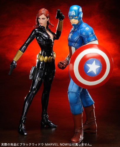 Image 9 for The Avengers - Captain America - ARTFX+ - Marvel The Avengers ARTFX+ - 1/10 (Kotobukiya)