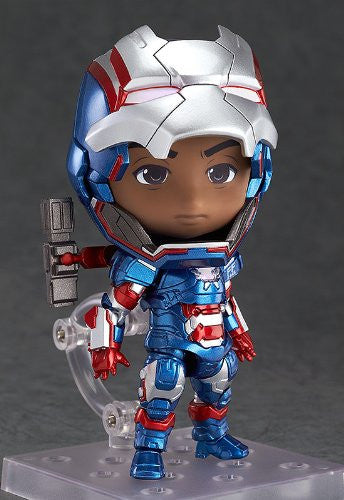 Image 3 for Iron Man 3 - Iron Patriot - Nendoroid #392 - Full Action (Good Smile Company)