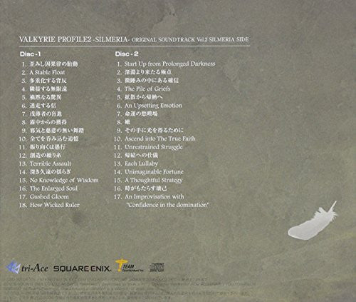 Image 2 for Valkyrie Profile 2 -Silmeria- Original Soundtrack Vol.2 Silmeria Side