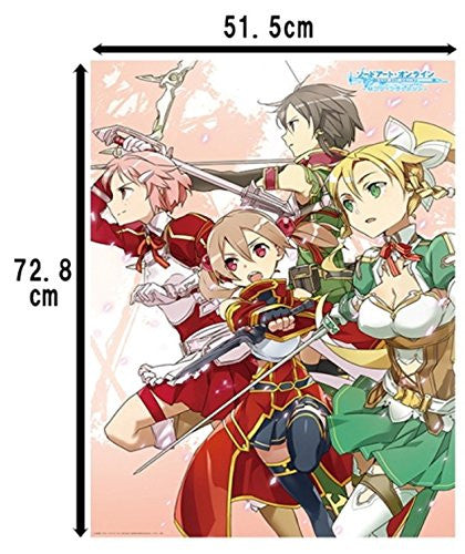 Image 2 for Sword Art Online Hollow Fragment - Lisbeth - Pina - Silica - Sinon - Leafa - Pile Bath Towel - Towel (Ascii Media Works)