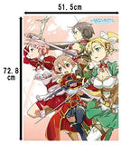 Thumbnail 2 for Sword Art Online Hollow Fragment - Lisbeth - Pina - Silica - Sinon - Leafa - Pile Bath Towel - Towel (Ascii Media Works)