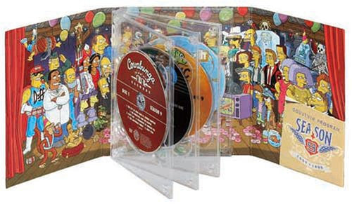 Image 2 for The Simpsons Season 9 DVD Collector's Box