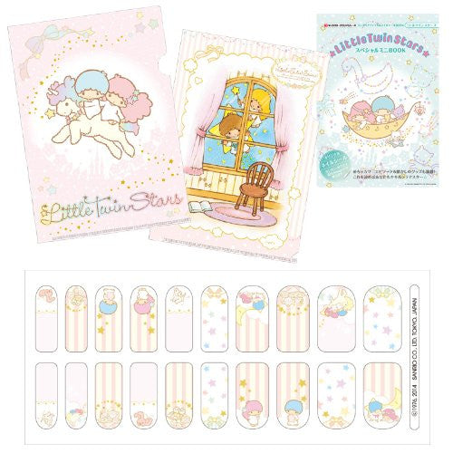 Image 2 for Little Twin Sisters   Mini Clear File And Nail Seal Book