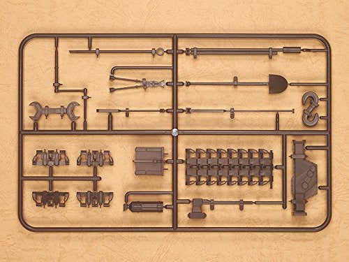 Image 2 for Girls und Panzer - Figma Vehicles - Panzer IV Ausf. D Tank Equipment Set (Brown) - 1/12 (Max Factory)