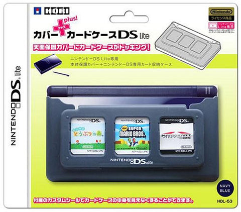 Image for Cover + Card Case DS Lite (navy)