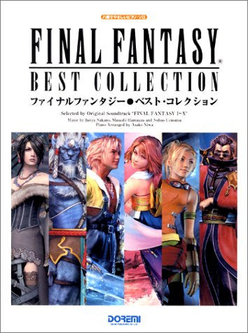 Image for Final Fantasy I To X Best   Music Score