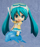 Thumbnail 3 for Vocaloid - Hatsune Miku - HappyKuji - HappyKuji Hatsune Miku 2013 Summer ver. - Nendoroid #339a - Family Mart 2013 ver. - Swimsuit ver.