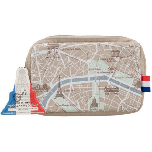 Image 3 for Design Pouch for 3DS LL (Map)