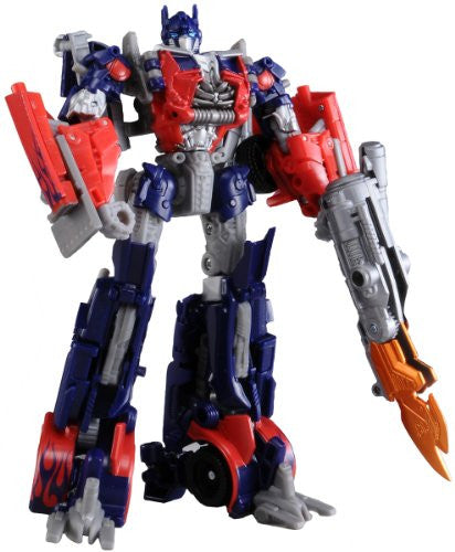 Image 1 for Transformers Darkside Moon - Convoy - Mechtech DA03 - Optimus Prime & Mechtech Trailer (Takara Tomy)