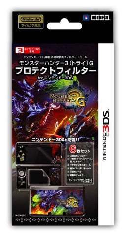 Image for Monster Hunter 3G Protection Filter 3DS