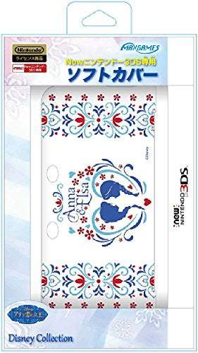 Image 1 for Soft Cover for New Nintendo 3DS (Anna & Elsa)