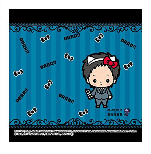 Image 1 for Durarara!! - Hello Kitty - Ryuugamine Mikado - Towel - Mini Towel - Hello Kitty x Durarara!! (Asunarosya)
