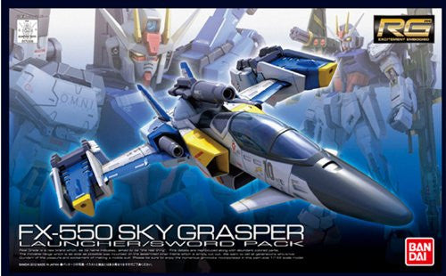 Image 1 for Kidou Senshi Gundam SEED - RG #06 - FX550 Sky Grasper with Launcher Sword Pack - 1/144 (Bandai)
