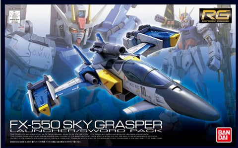 Image for Kidou Senshi Gundam SEED - RG #06 - FX550 Sky Grasper with Launcher Sword Pack - 1/144 (Bandai)
