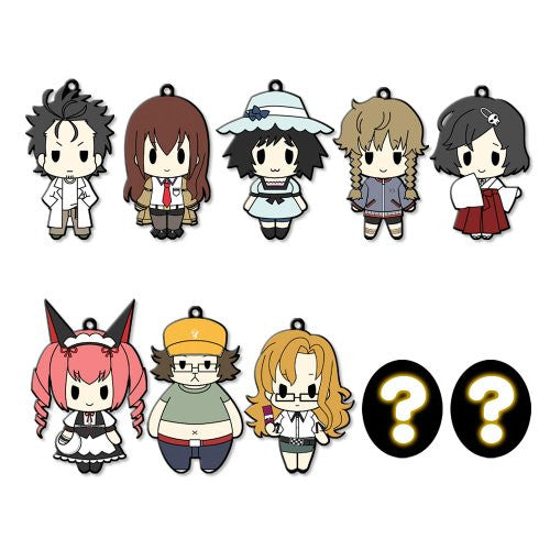Image 1 for Steins;Gate  - D4 Series Rubber Strap Complete Set Box
