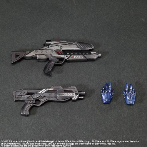 Image 4 for Mass Effect 3 - Ashley Williams - Play Arts Kai (Square Enix)
