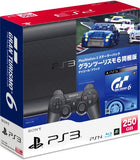 PlayStation3 New Slim Console - Starter Pack with Gran Turismo 6 (Charcoal Black) - 1