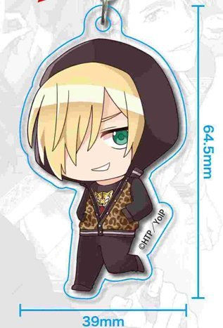 Image 1 for Yuri!!! on Ice - Yuri Plisetsky - Acrylic Keychain - Keyholder - Tekutoko - Part 2