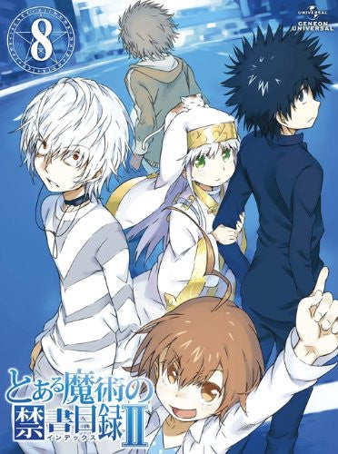 Image 1 for To Aru Majutsu No Index II Vol.8 [Blu-ray+CD-ROM Limited Edition]