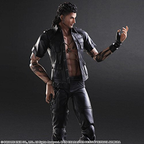 Image 5 for Final Fantasy XV - Gladiolus Amicitia - Play Arts Kai (Square Enix)