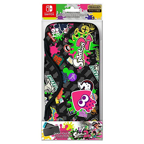 Image 1 for Splatoon 2 - Nintendo Switch Quick Pouch - Type B