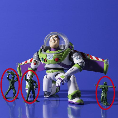 Image 9 for Toy Story - Buzz Lightyear - Green Army Men - Revoltech - Revoltech SFX #011 - Legacy of Revoltech LR-046 (Kaiyodo)