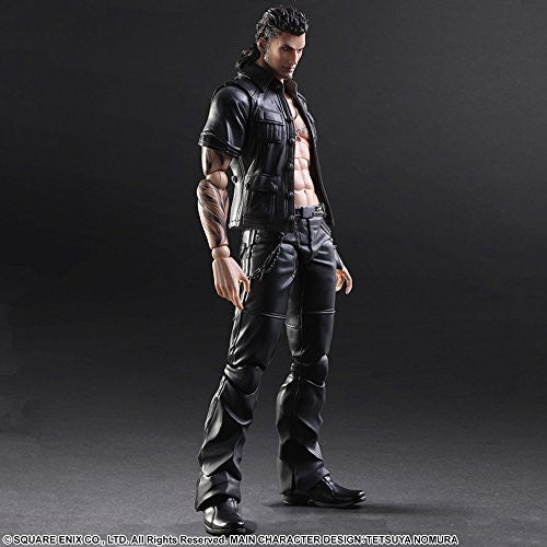 Image 7 for Final Fantasy XV - Gladiolus Amicitia - Play Arts Kai (Square Enix)