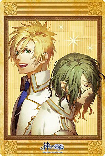 Image 1 for Kamigami no Asobi - Ludere deorum - Apollon Agana Belea - Hades Aidoneus - Mousepad - Large Format Mousepad (Broccoli)