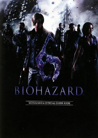 Image for Bio Hazard 6 / Resident Evil 6   Official Guide Book