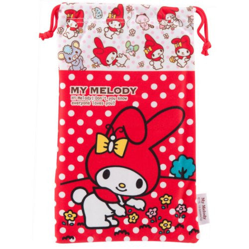 Image 2 for My Melody Pouch for 3DS LL (Red)