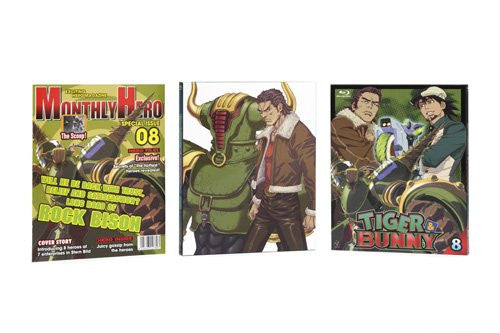 Image 2 for Tiger & Bunny 8 [Blu-ray+CD Limited Edition]