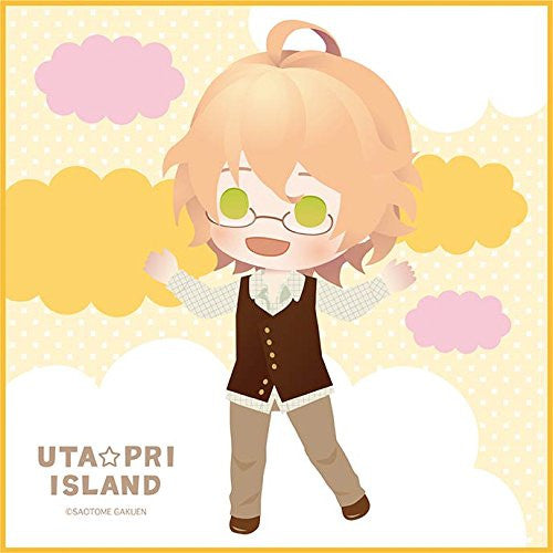 Image 1 for Uta no☆Prince-sama♪ - Shinomiya Natsuki - Mini Towel - Uta☆Pri Island (Broccoli)
