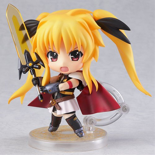 Image 3 for Mahou Shoujo Lyrical Nanoha The Movie 2nd A's - Fate Testarossa - Nendoroid #289 - Full Action, Blaze Form Edition (Good Smile Company)