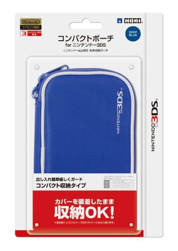 Image 1 for Compact Pouch 3DS (Deep Blue)