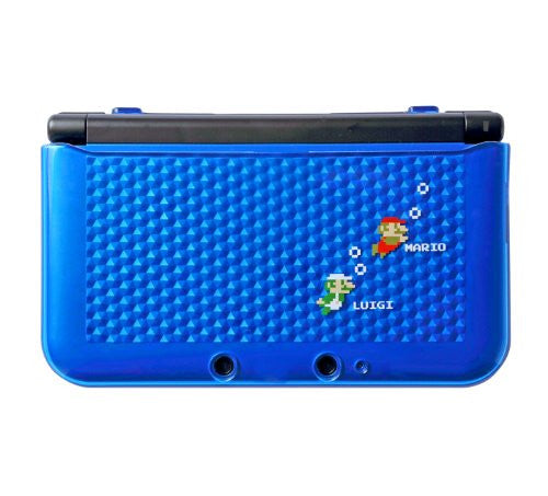Image 1 for Super Mario Bros. TPU Cover for 3DS LL (Blue)
