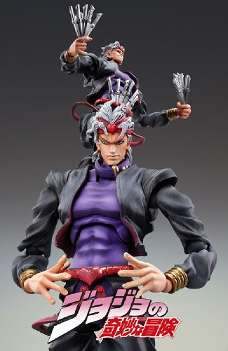 Image 2 for Jojo no Kimyou na Bouken - Stardust Crusaders - Dio Brando - Super Action Statue #50 - Black Ver. (Medicos Entertainment)