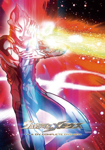 Image 1 for Ultraman Mebius Tv & Ov Complete Dvd Box