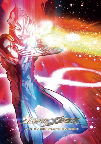 Image for Ultraman Mebius Tv & Ov Complete Dvd Box