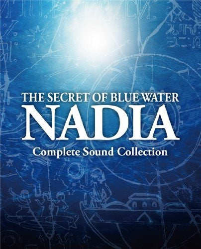Image 1 for The Secret of Blue Water Nadia Complete Sound Collection