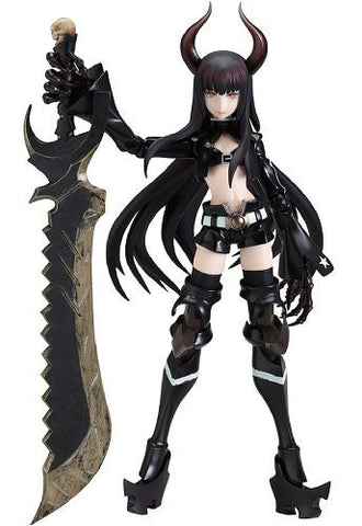Black ★ Rock Shooter - Black ★ Gold Saw - Figma - SP-017 (Max Factory)