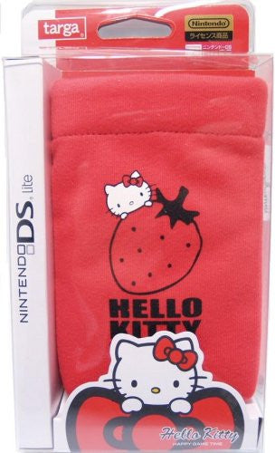 Image 1 for Hello Kitty Pocket Pouch (Red)